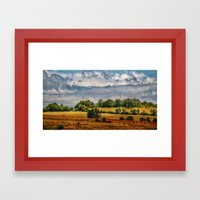 Van Goghs colours Framed Art Print
