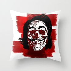 Salvador POSTportrait Throw Pillow