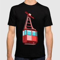 To the Sky Mens Fitted Tee Black SMALL