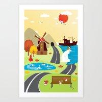 Planet Life Art Print