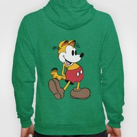 Mickey x Garfield  Hoody