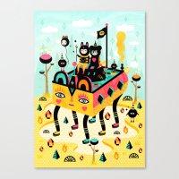 Hanging Around! Canvas Print