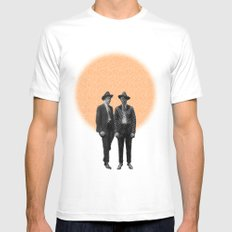 Two Brothers Mens Fitted Tee SMALL White