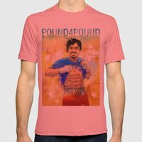 Manny Pacquiao - Pound 4… Mens Fitted Tee Pomegranate SMALL