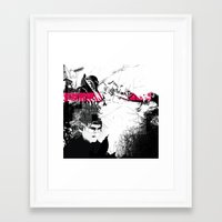TYPE Framed Art Print