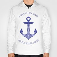 Hoody featuring Smooth Sea by Fimbis