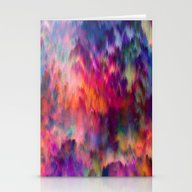 Stationery Cards featuring Sunset Storm by Amy Sia