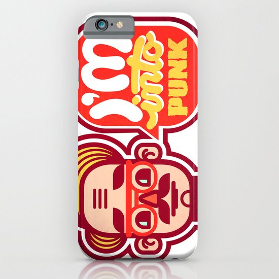 I'm Into Punk iPhone & iPod Case
