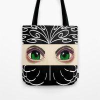 Reverse Masquerade Tote Bag