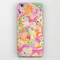 Koi Study iPhone & iPod Skin