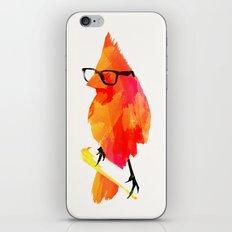 Punk bird iPhone & iPod Skin
