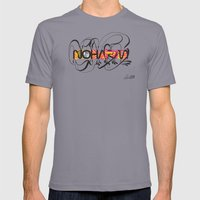 NOHARM Mens Fitted Tee Slate SMALL