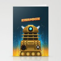 EXTERMINATE Stationery Cards