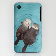 Otterly Romantic - Otter… iPhone (3g, 3gs) Slim Case
