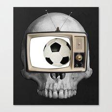 Football WM 2 Canvas Print