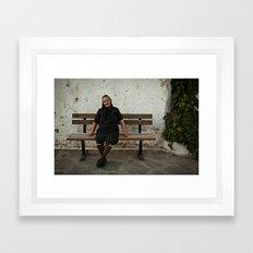 The Greek Lady Framed Art Print