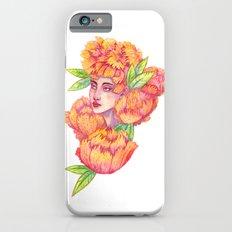 Peonies 1/2 iPhone 6 Slim Case