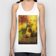 Arrive At The Paradise Unisex Tank Top