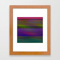Laniakea Pixels error on my computer Framed Art Print