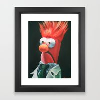 Meep! Framed Art Print