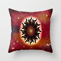 DECEMBER SUN - 290 Throw Pillow