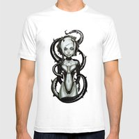 The Flower Of Carnage Mens Fitted Tee White SMALL