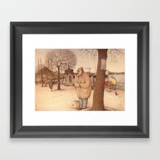 The Uskudar Waterfront, Istanbul Framed Art Print