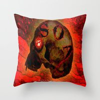 ANARCHY - 005 Throw Pillow