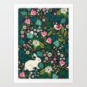 Forest Friends Art Print