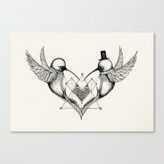 'Valentine's Day' Canvas Print
