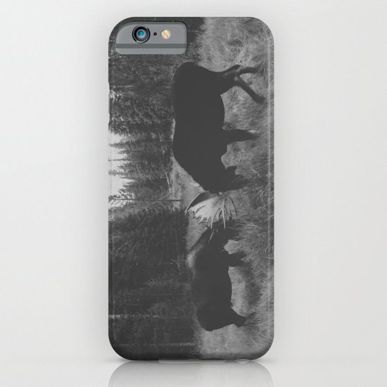 Moose Battle iPhone & iPod Case
