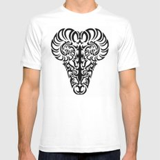 Aries SMALL Mens Fitted Tee White
