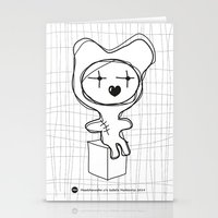 The Bear Is Waiting For You Stationery Cards