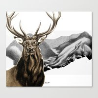 Heart of The Hunted Canvas Print