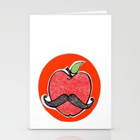 apple Stationery Cards featuring Apple by Ilariabp.art