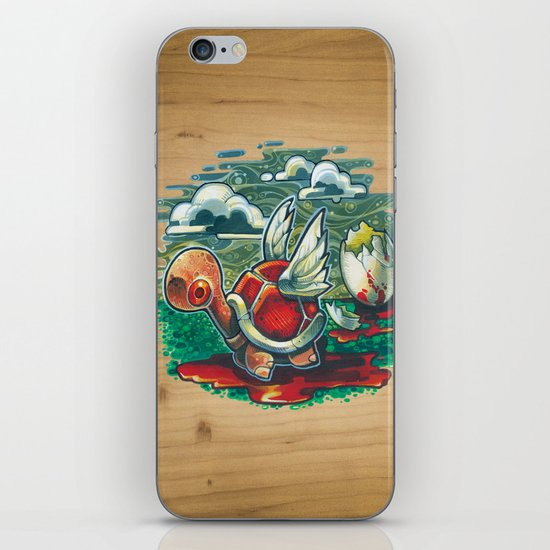 """""""Life Will Find A Way"""" iPhone & iPod Skin"""