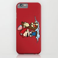 iPhone & iPod Case featuring Mario and Kong by Mike Handy Art