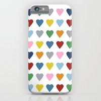 64 Hearts iPhone 6 Slim Case