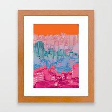 Fragmented Worlds II Framed Art Print