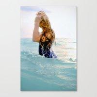 Rachel Surfaces Canvas Print