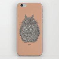 Peach Totoro iPhone & iPod Skin
