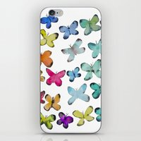 For A Friend: Butterflies iPhone & iPod Skin