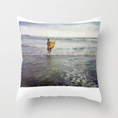 Costa Rica Polaroid #35 Throw Pillow