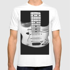 While my guitar gently weeps Mens Fitted Tee SMALL White