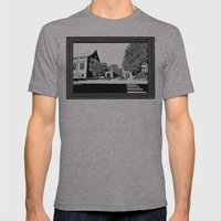 bloomington III Mens Fitted Tee Athletic Grey SMALL