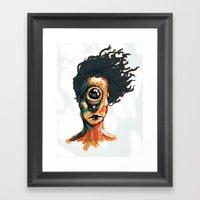 Depth Perception  Framed Art Print