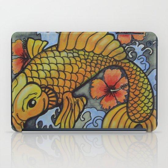 koi fish 02 iPad Case