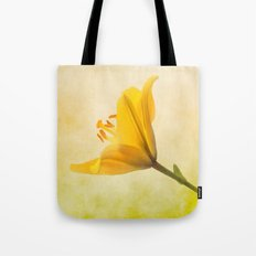Lemon Lily Tote Bag