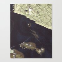 SURREAL BIRD Canvas Print