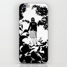 Picking wild cherries iPhone & iPod Skin
